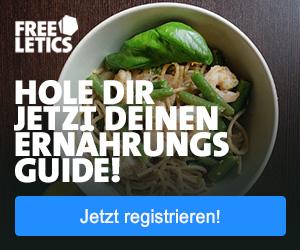 Hole dir jetzt deinen Freeletics Nutrition Guide